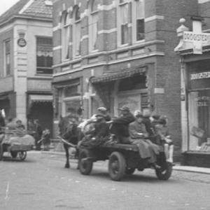 Geëvacueerde Arnhemmers in Apeldoorn