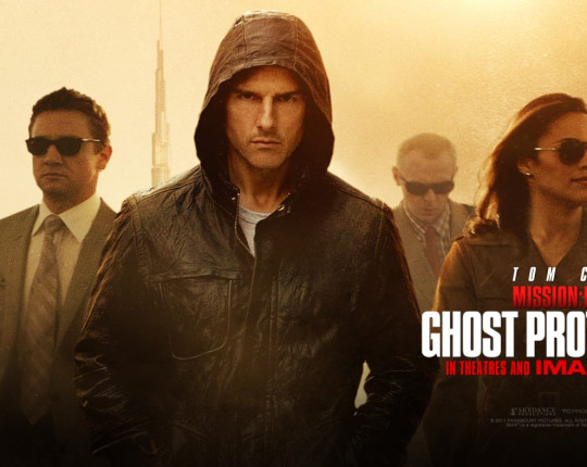 In prèmiere: Mission Impossible 4 – Ghost Protocol