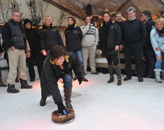 Curlingcompetitie in volle gang