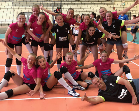 Meisjes talententeam Dynamo 9e plek United World Games