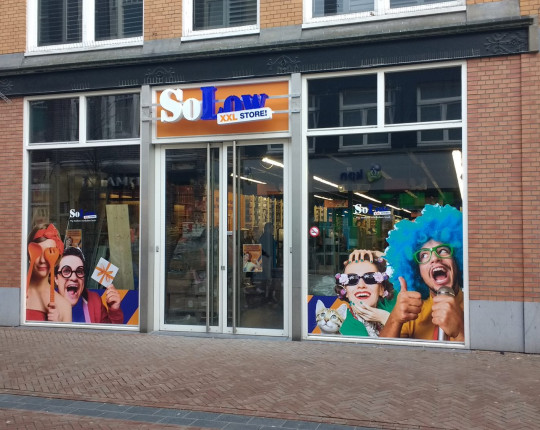 XXL funshoppen in voormalig pand Scapino