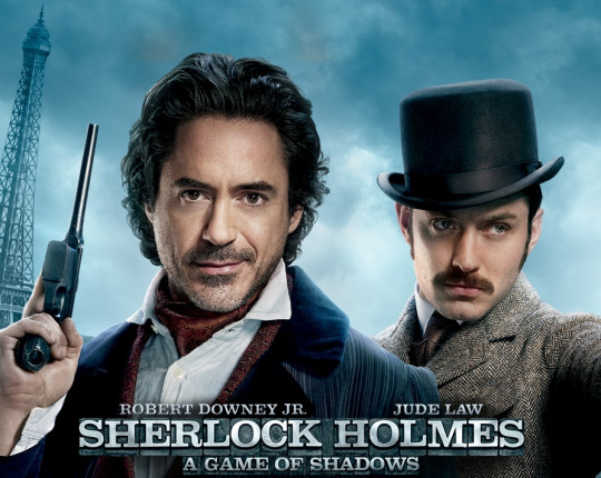 In prèmiere: Sherlock Holmes: A Game of Shadows