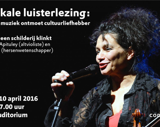 Optreden Esther Apituley en Dick Swaab