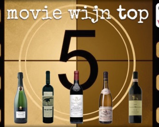 Vintake's Wijnbuzzz: De top 5 wijn/film combinaties