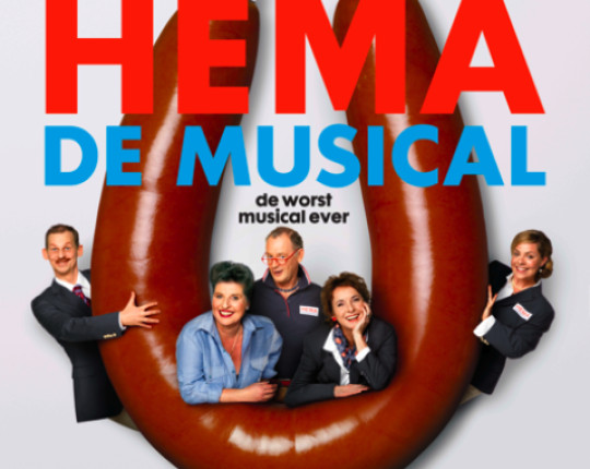 HEMA de musical speelt 100e voorstelling in Theater Orpheus