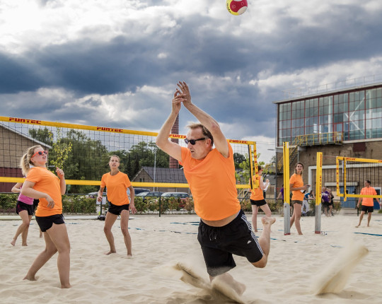 Top beachvolleybaldag in Apeldoorn